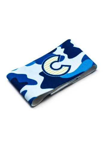 CAMO CAPTAIN ARMBAND (BLUE)