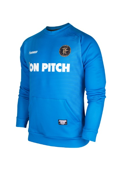 WARM-UP TOP (BLUE)