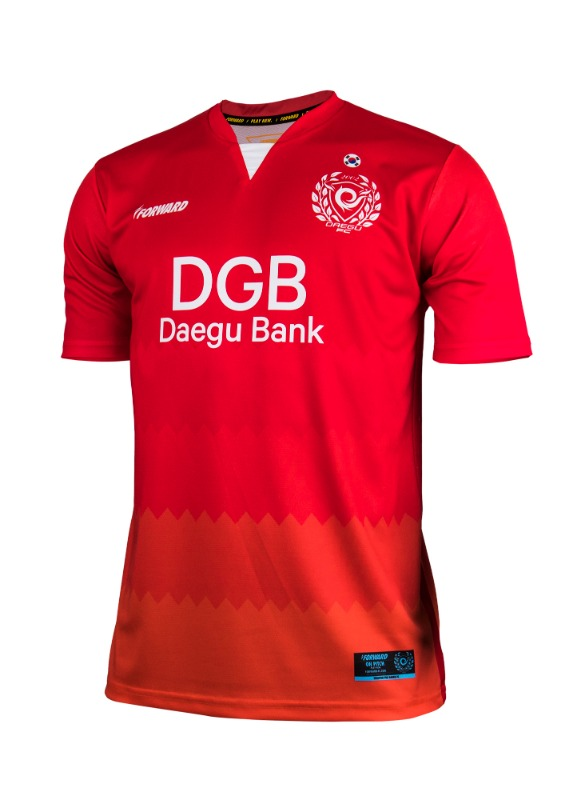 DAEGU FC GK HOME KIT FOR ACL (PREMIUM - 전사형) / 마킹 후부착