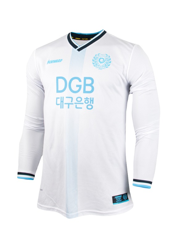 DAEGU FC L/S AWAY KIT FOR K-LEAGUE 'FORCOOL' (AUTHENTIC)