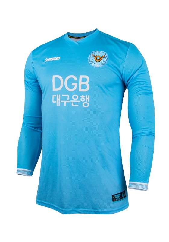 DAEGU FC L/S HOME KIT FOR K-LEAGUE 'FORCOOL' (AUTHENTIC)
