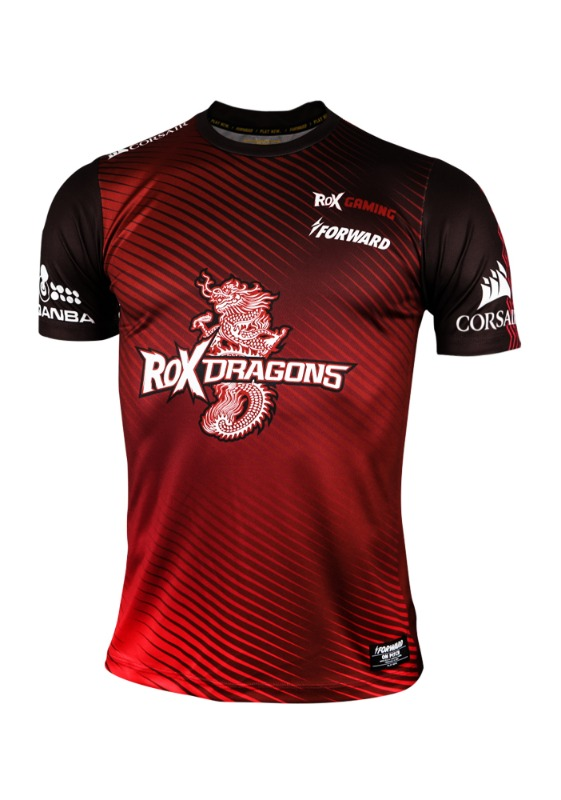 ROX DRAGONS 2019 S/S JERSEY