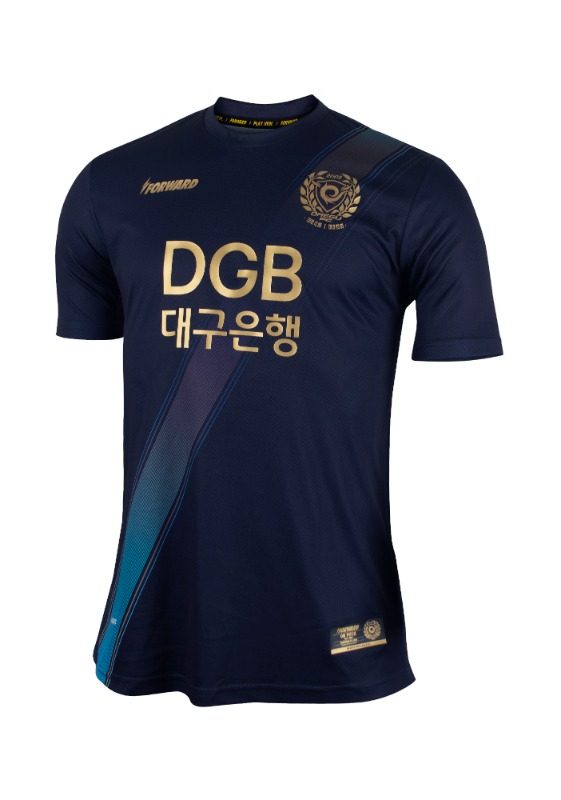 DAEGU FC SPECIAL 3RD KIT 'FORCOOL' (GOLDEN NIGHT PACK / AUTHENTIC)