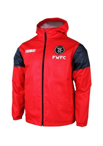 CLASS HOODY JACKET W SHIELD (CHILI RED)