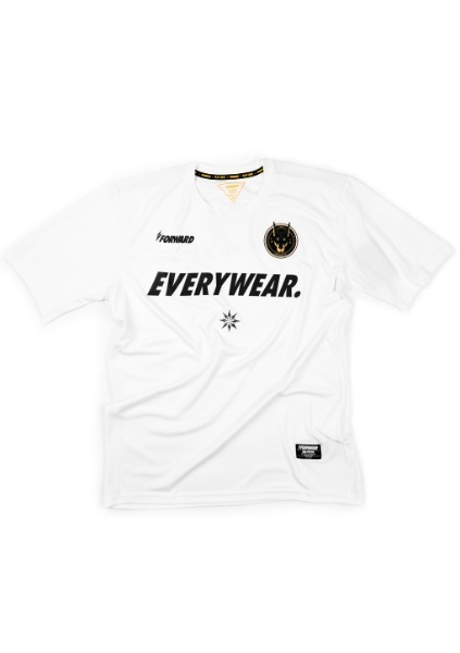 NEW BASE LAYER DOBERMAN S/S JERSEY (WHITE)