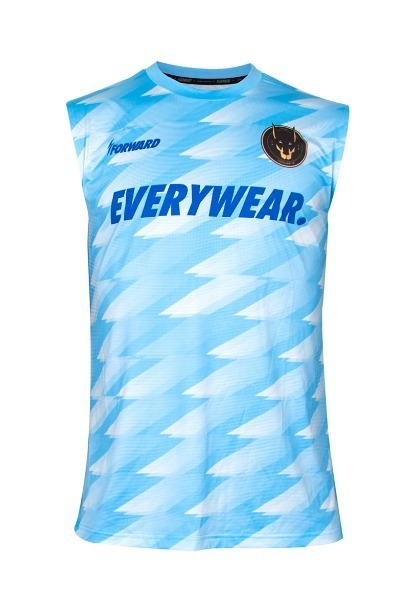 TUNNEL SLEEVELESS TR (SKY BLUE)