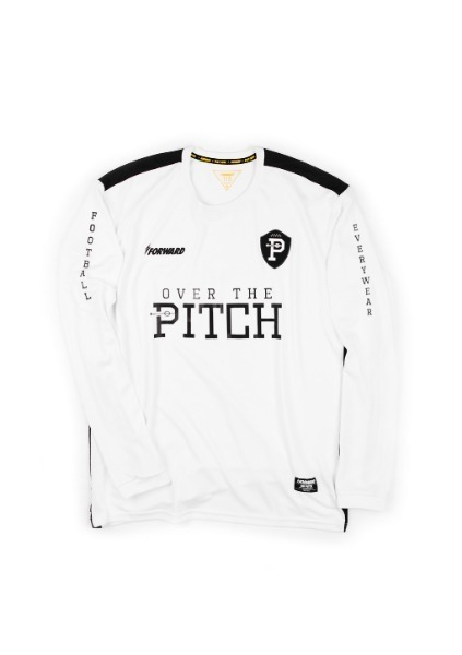FORWARD X OTP BASE LAYER L/S JERSEY (WHITE/BLACK)