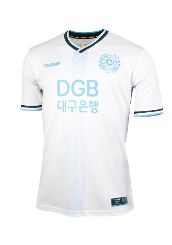 DAEGU FC AWAY KIT FOR K-LEAGUE (PREMIUM - 전사형)/ 마킹 후부착