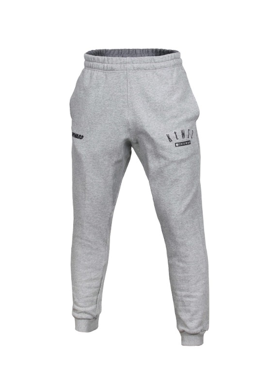 FORWARD kt wiz ARCH LOGO JOGGER PANTS (GREY/BLACK)