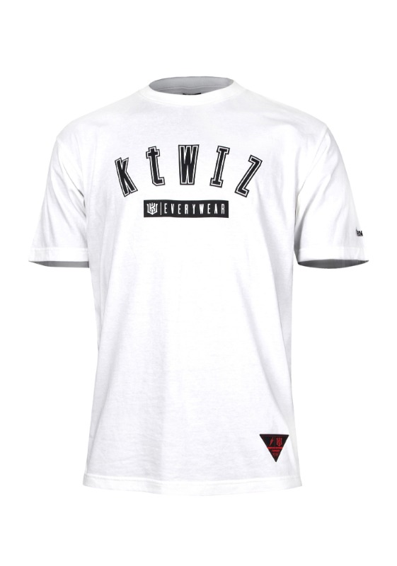 FORWARD kt wiz ARCH LOGO T-SHIRTS (WHITE/BLACK)