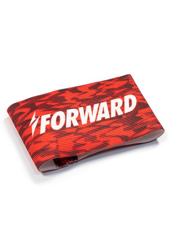 CAMO CAPTAIN ARMBAND (RED)