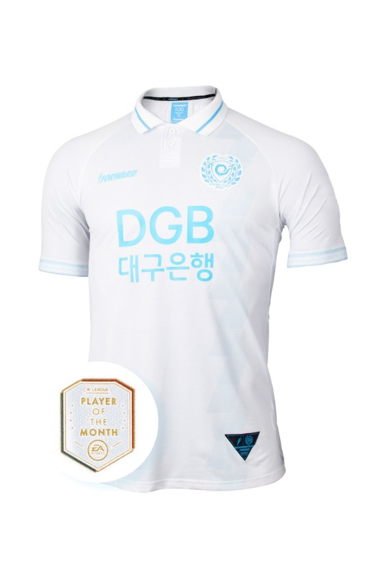 [POTM PACK] DAEGU FC 2020 AWAY KIT FOR K LEAGUE 'FORCOOL' (AUTHENTIC)