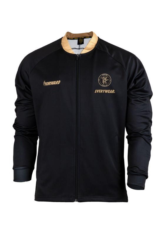 LIGHTENING PITCHSUIT TRAINING TOP (BLACK/GOLD)