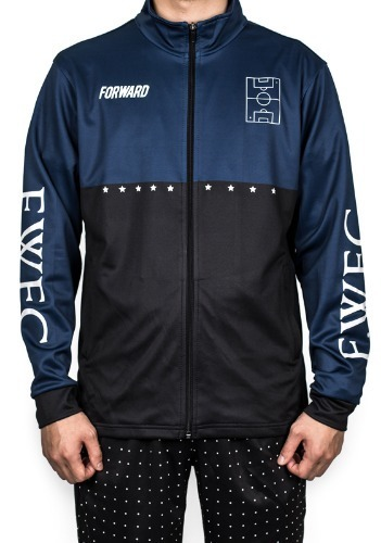 'HIGHLIGHT' TRACK TOP (NAVY)
