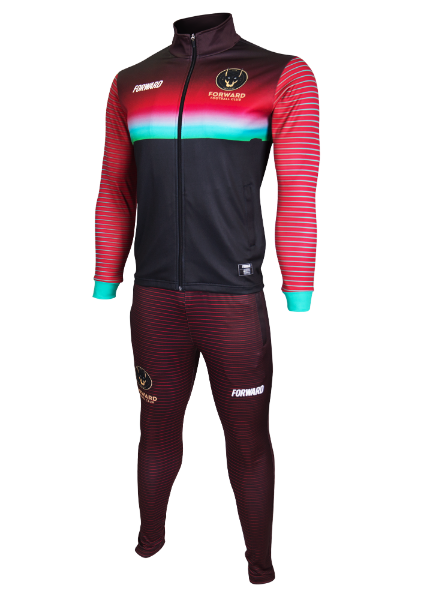 SUNSET TRACK TOP (RED/GREEN)