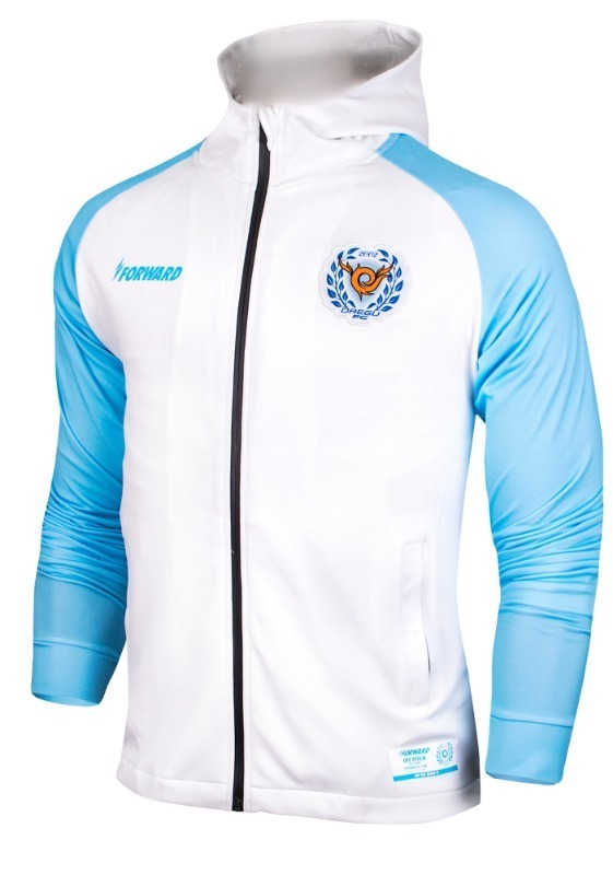 DAEGU FC HOODY ZIP-UP TRAINING TOP (LIGHT VER.)