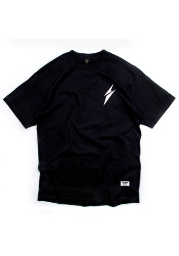 'EVERYWEAR EARTH' S/S COTTON T-SHIRT (BLACK)