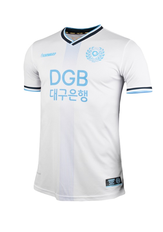 DAEGU FC AWAY KIT FOR K-LEAGUE 'FORCOOL' (AUTHENTIC)