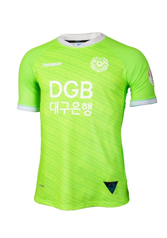 DAEGU FC 2020 GK AWAY KIT FOR K LEAGUE 'FORCOOL' (AUTHENTIC)